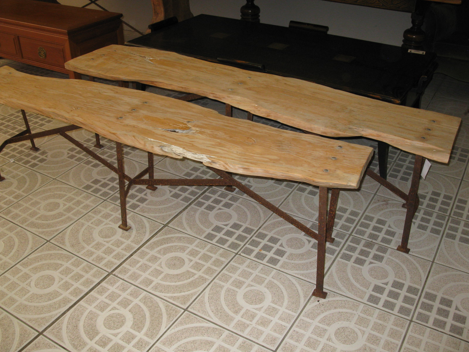 woodenbenches